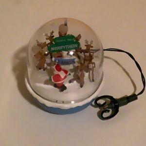 Hallmark magic cord ornament